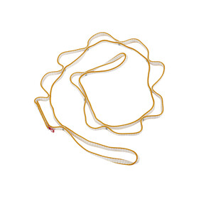Ocun DaisyChain DYN 11mm 115cm - orange/blanc